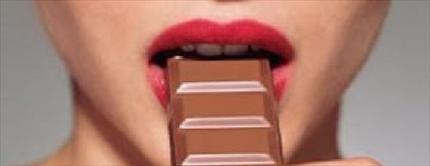 Foto Comer chocolate es casi como sentirse enamorado